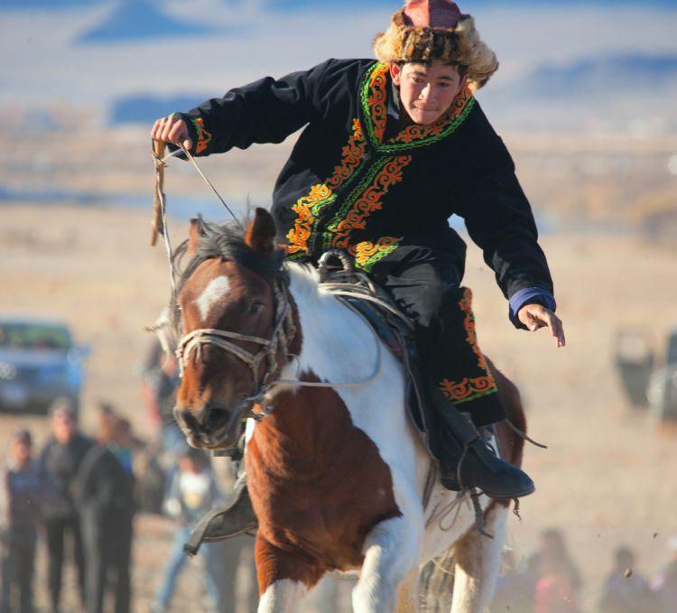 Cavialier Mongole