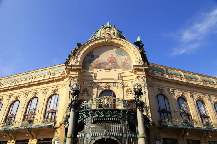 Maison municipale de Prague
