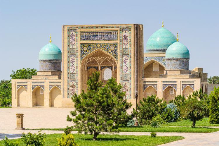 Mosquée de l'ensemble Hazrati Imam à Tachkent