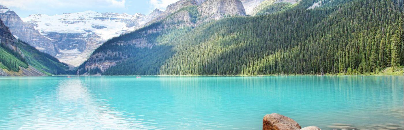 Lac Louise dans le parc national de Banff
