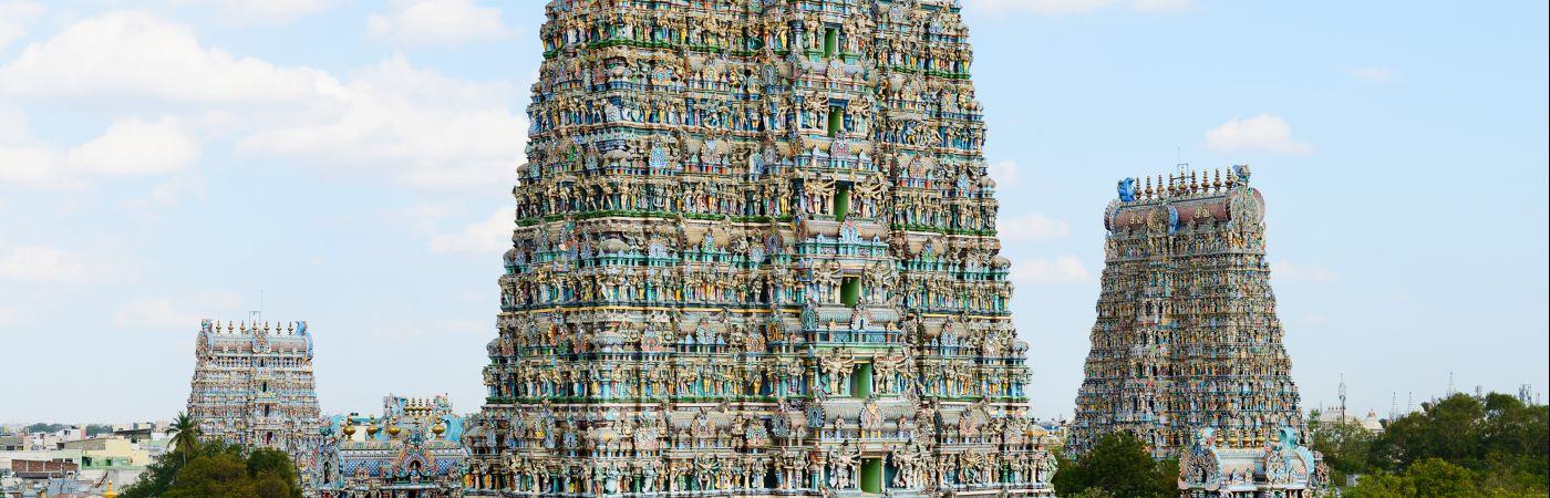 Temple Minakshi à Madurai
