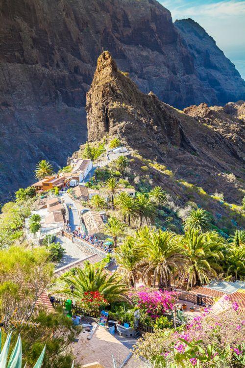 Village de Masca sur Tenerife