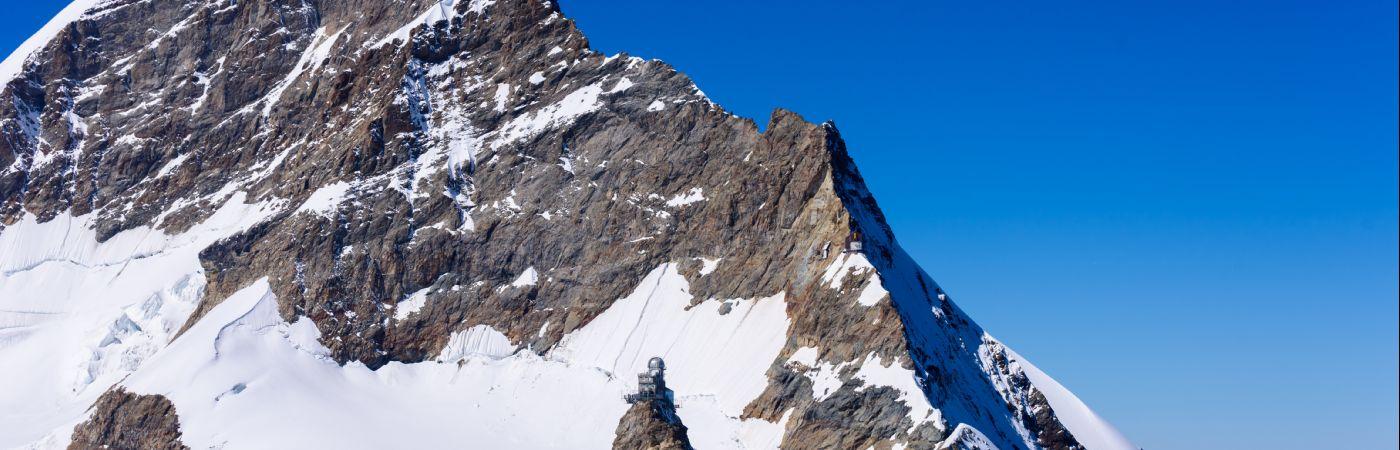 Jungfraujoch et l'observatoire du Sphinx